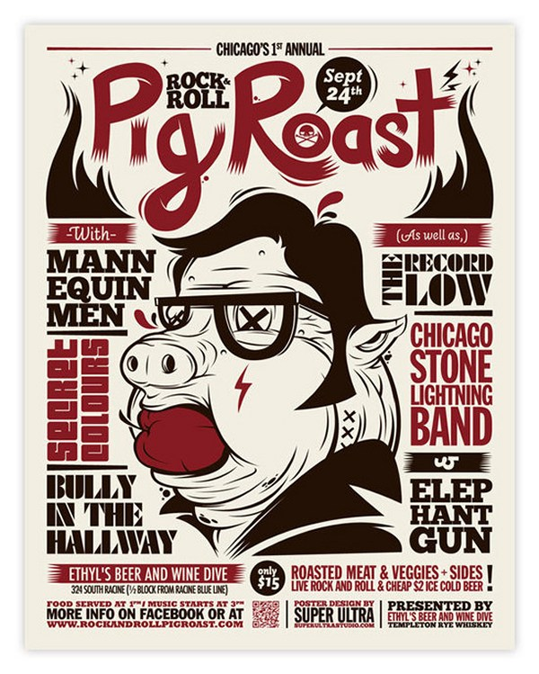 Rock & Roll Pig Roast