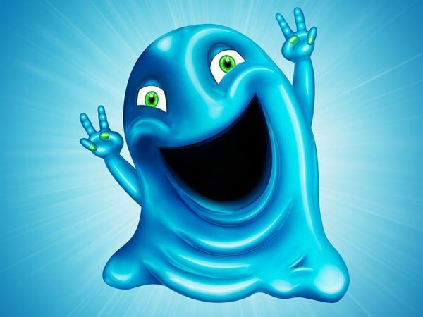 How to Create a Cute Gooey Blob from Scratch Using Photoshop