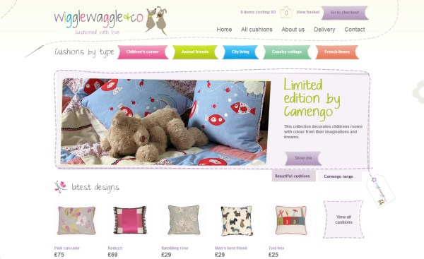 Wiggle Waggle - e-Commerce