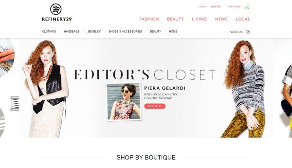 Refinery29 - e-Commerce
