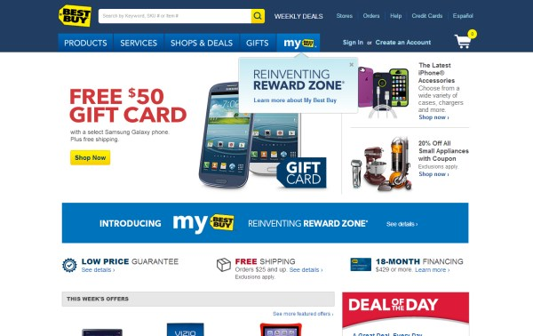 Best Buy - e-Commerce