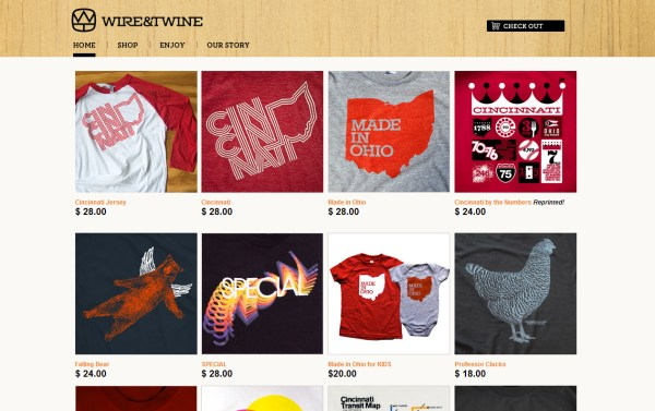 Wite & Twine - e-Commerce Website