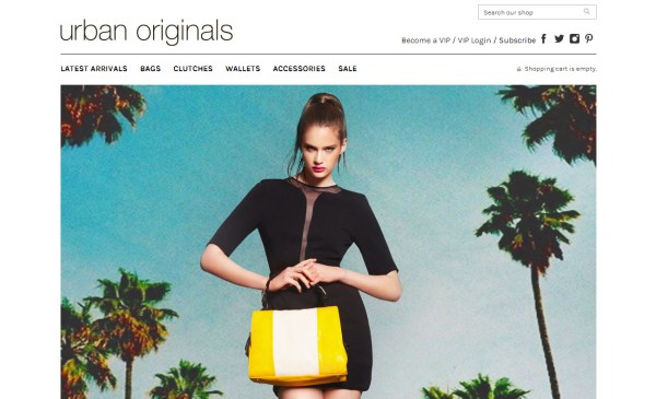 Urban Originals - e-Commerce