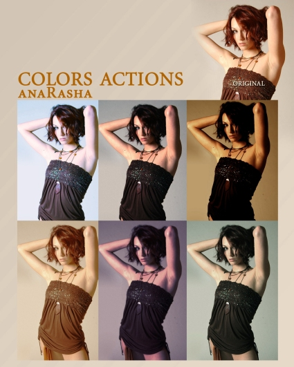 Colors Actions