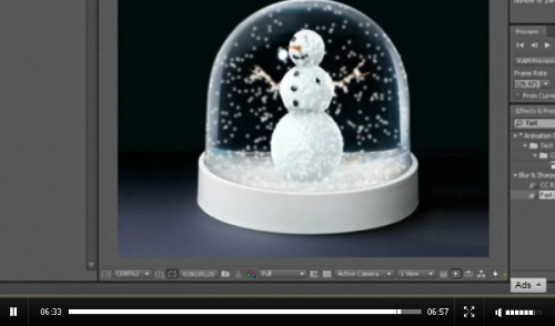Snow Globe in After Effects CS4