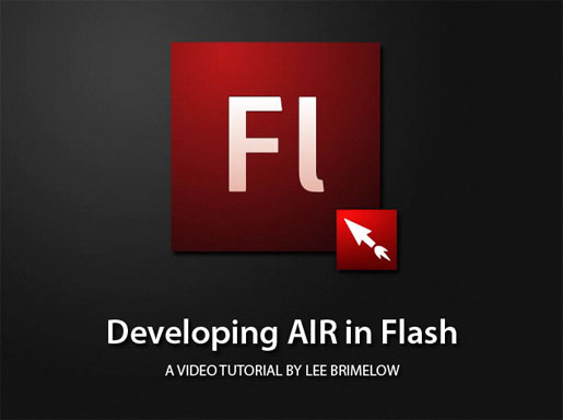 Developing AIR in Flash