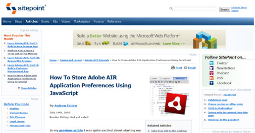 How to Store Adobe AIR Application Preferences Using JavaScript