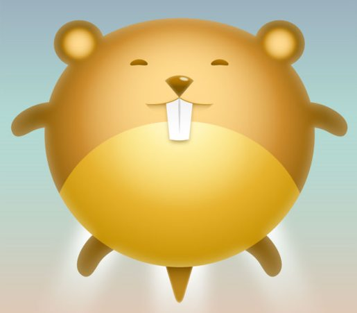 Design a Cute Hamster Avatar