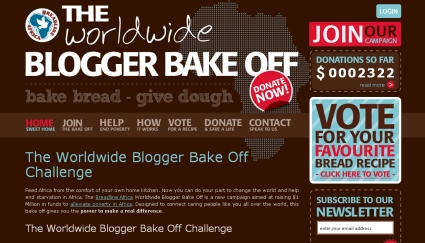 Worldwide Blogger Bake Off