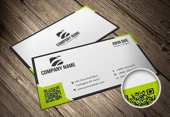 Business Card Template #1