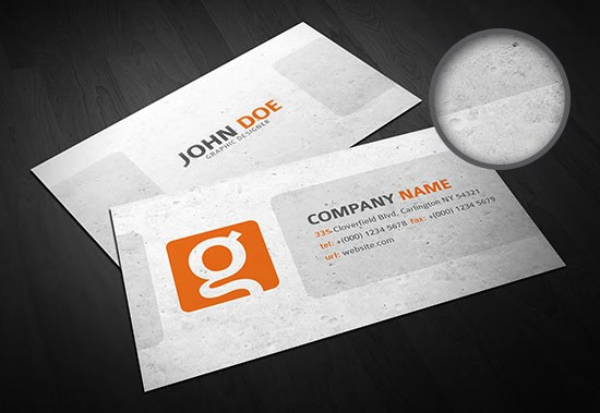 Business Card Template #3