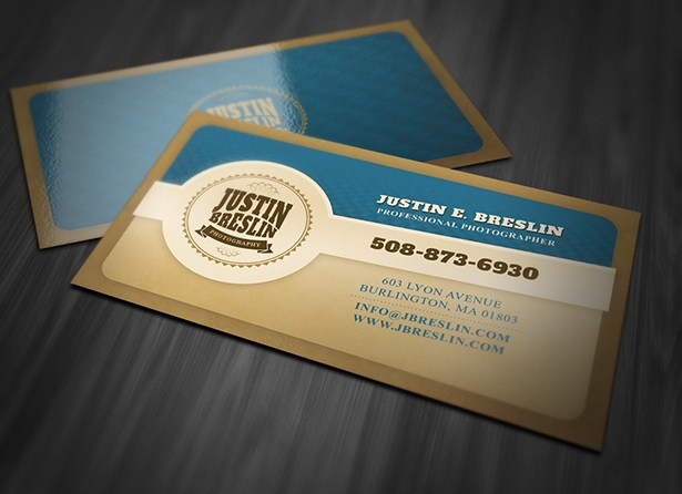 Photography Business Card Template<