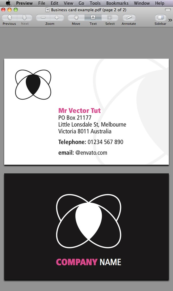 Business Cards Indesign Template