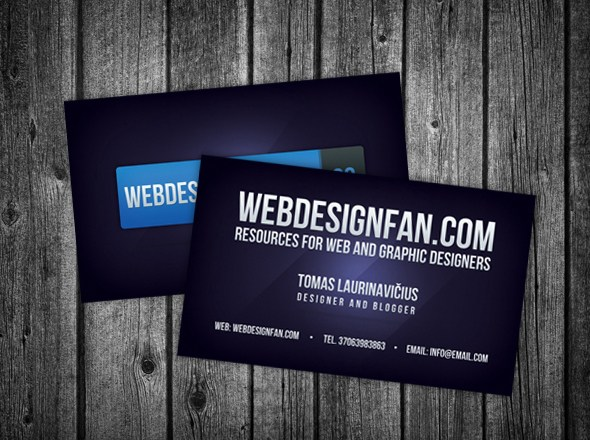 How to Design a Stylish Business Card in Photoshop