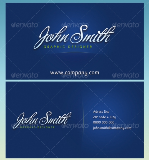 JS Business Cards