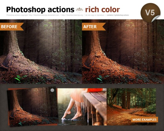 Rich Color Actions