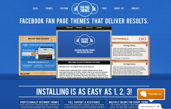 Fan Page Themes