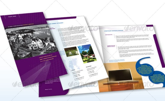 4 Page Corporate Brochure A4