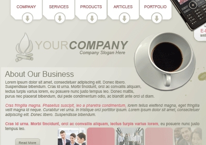 Business layout