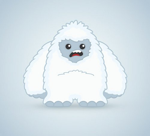 Create a Cool Vector Yeti Character in Illustrator