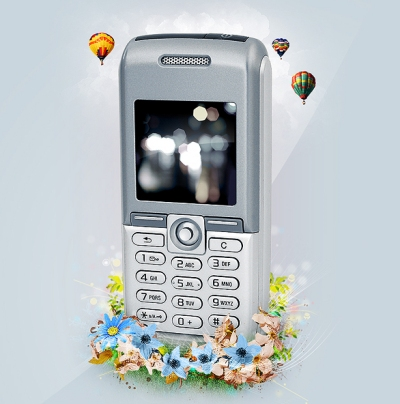 Mobile Phone Ad