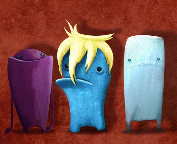 Create Monstrous Characters with Illustrator CS5's Bristle Brush