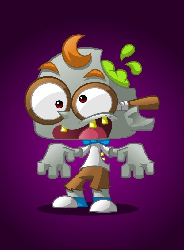 How to Create a Geek Zombie Mascot in CorelDRAW