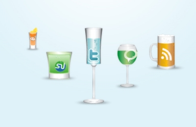 Cheers social icons