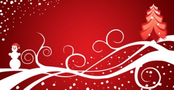 Abstract Christmas Wallpaper 2