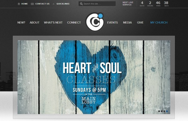 sprouti - Church Website Design Ideas