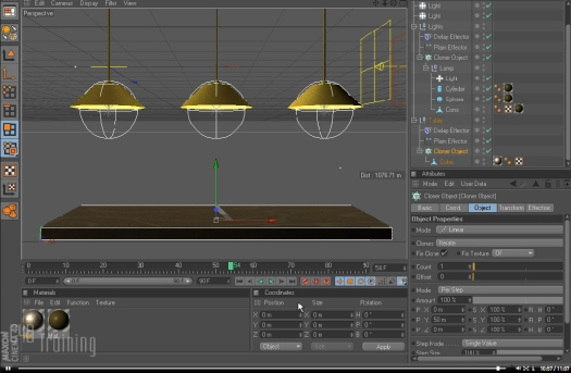 Adding Bounce with Mograph