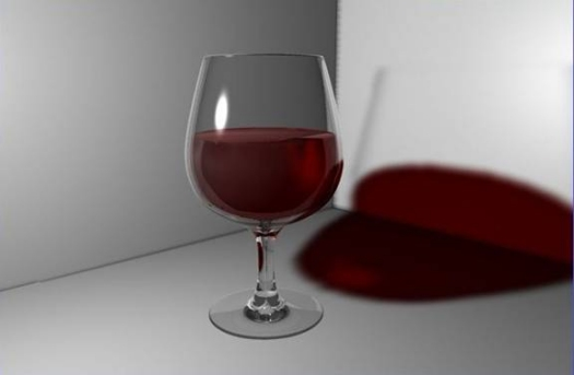 Making a Glass and a Wine Bottle with CD4
