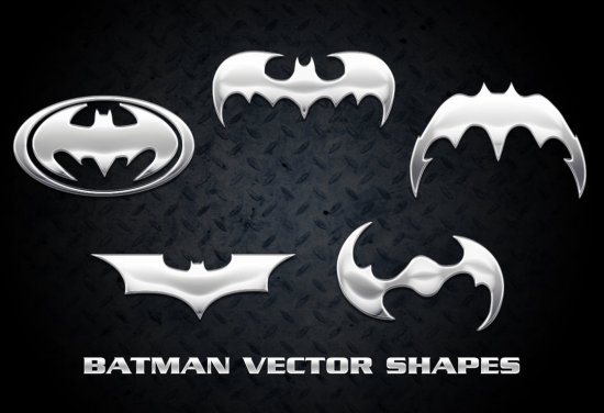 Batman Vector Shapes