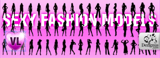 Fashion Girl's Silhouettes