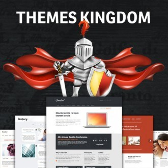 Themes Kingdom: 35+ Premium WordPress Themes