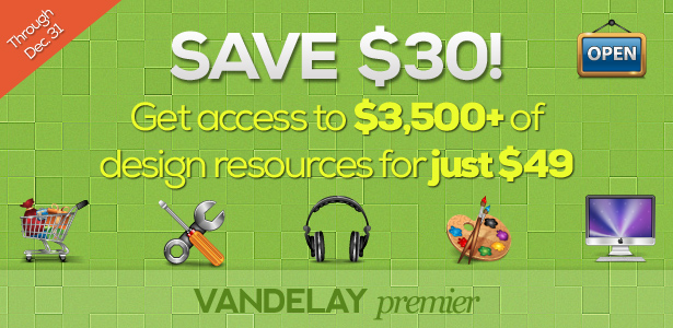 Vandelay Premier December 2012 Discount