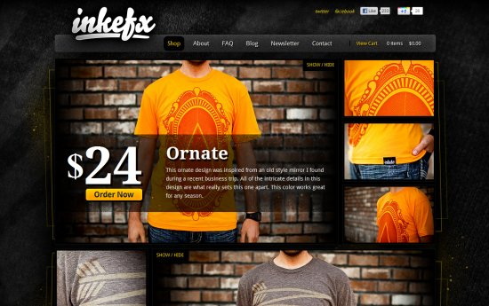 25 Beautiful Ecommerce Websites