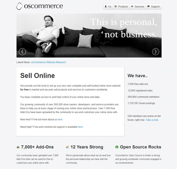 osCommerce