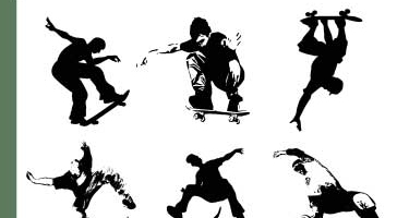 skateboarder shapes