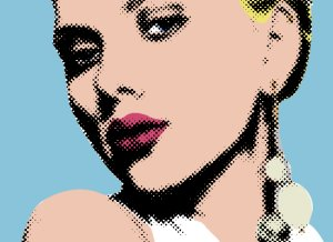 pop art inspired by Lichtenstein