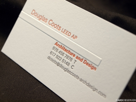 25 Embossed Business Cards for Print Design Inspiration