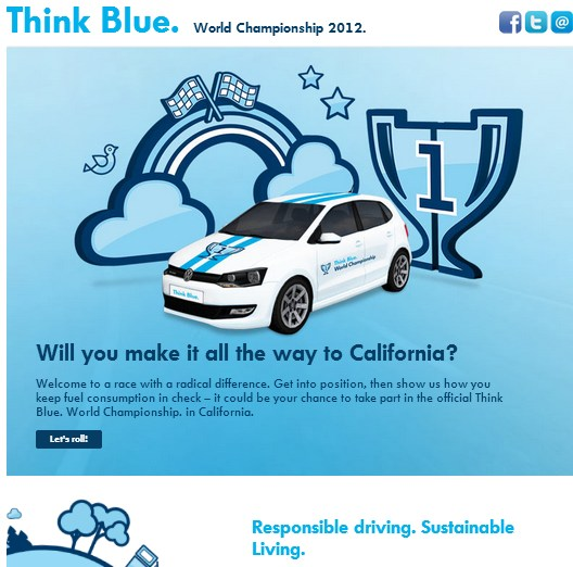 Volkswagen - Think Blue