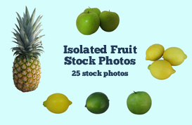 Isolated Fruit Stock Photos