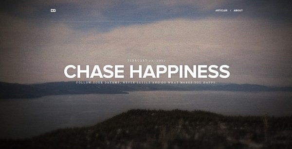 Chase Happiness