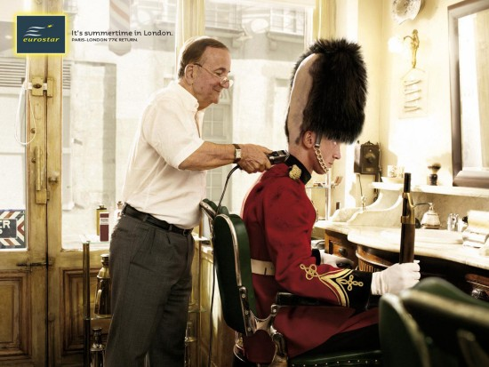 Eurostar: The Barber