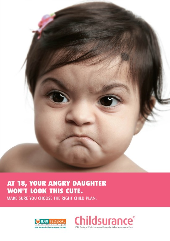 Childsurance: Angry Baby