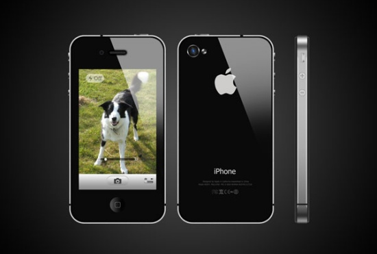 Create a Photo Realistic iPhone in Photoshop