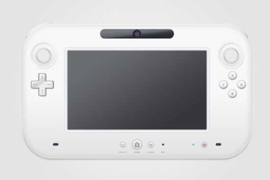 Learn How to Create a Nintendo WiiU from Scratch in Photoshop