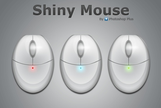 Learn to Create a Sleek Shiny Mouse