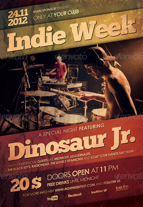 Indie Flyer/Poster 2
